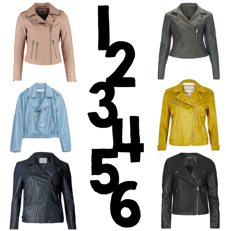 Faux Leather Jacket Edit - Highstreet