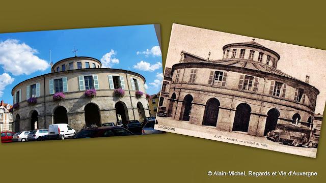 Ambert : la Mairie.
