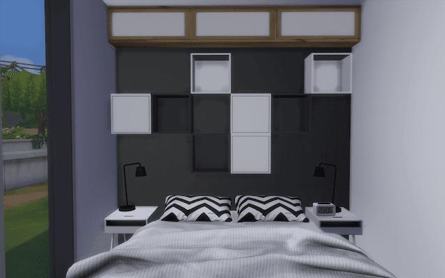 petite maison 2 chambres sims 4