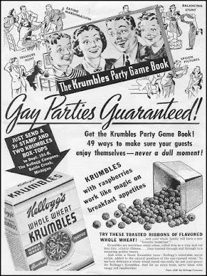 Kelloggs Krumbles -- Gay Parties Guaranteed