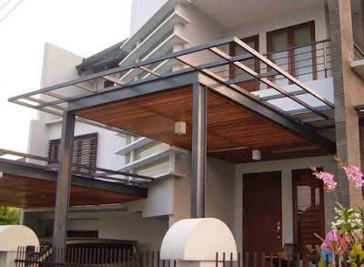 Gambar Model Kanopi Rumah Minimalis