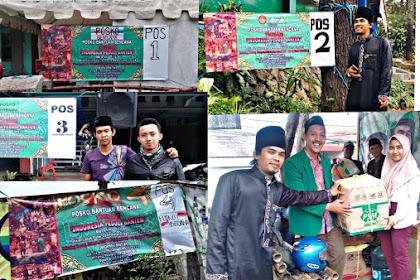 Bentuk 4 Posko, Ansor Parongpong Galang Bantuan Untuk Korban Tsunami Banten