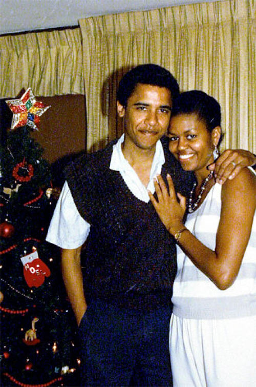 Michelle and Barack Obama celebrate 24 years of marriage