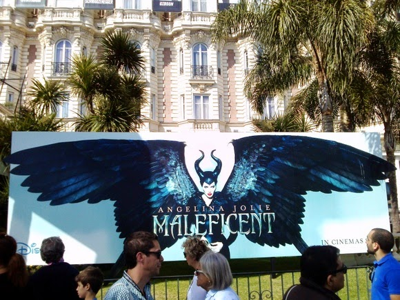 Maleficent billboard ad