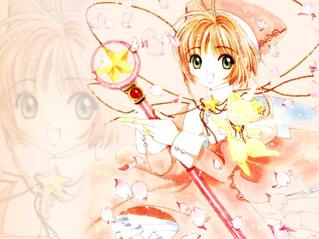 Anime cardcaptor sakura kinomoto sakura - Cardcaptor sakura wallpaper ...