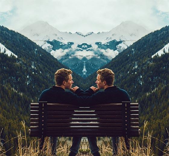 Make-mirror-image-effect-in-Photoshop