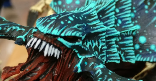 'nids part 259 - Biotitan Tyranid Hierophant pt.13 - Chitin highlights 2