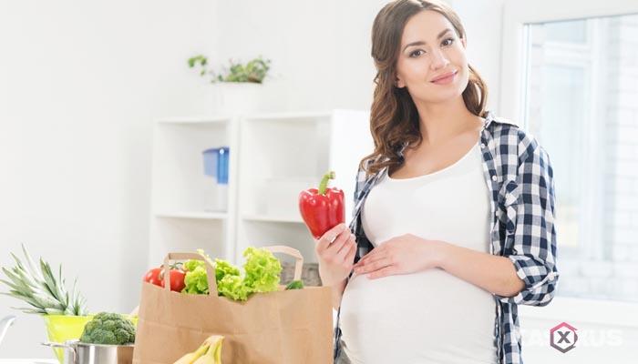Fakta 2 - Selera makan ibu hamil 25 minggu mulai kembali