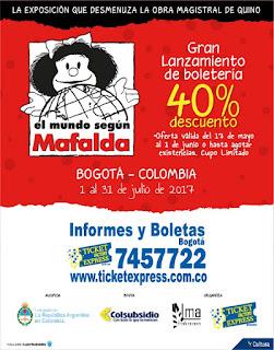 EL MUNDO SEGÚN MAFALDA EN BOGOTA 2