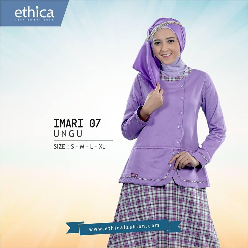 Gambar Ethica Model St 97 Toska Annisa Collection Baju Atasan