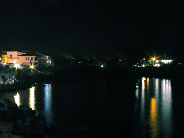 Santa Tecla di notte