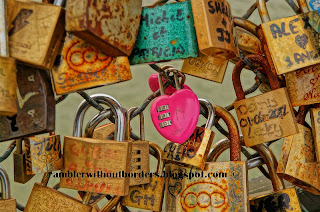 Love locks, Pont de Arts, Paris, France