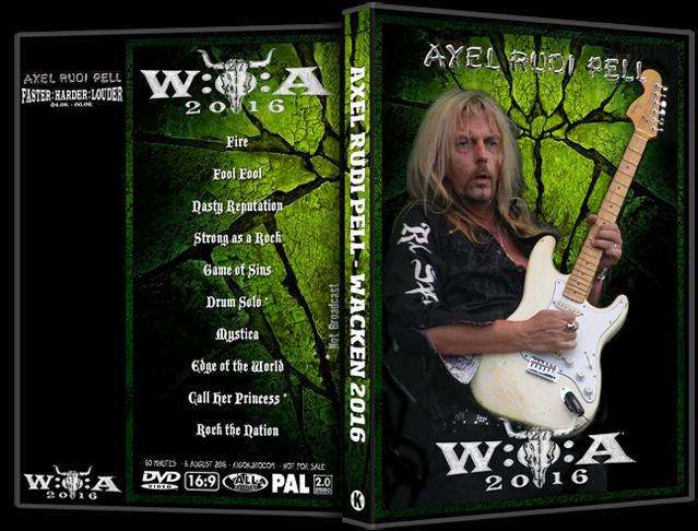 Ολόκληρο το live show του Axel Rudi Pell στο Wacken Open Air 2016