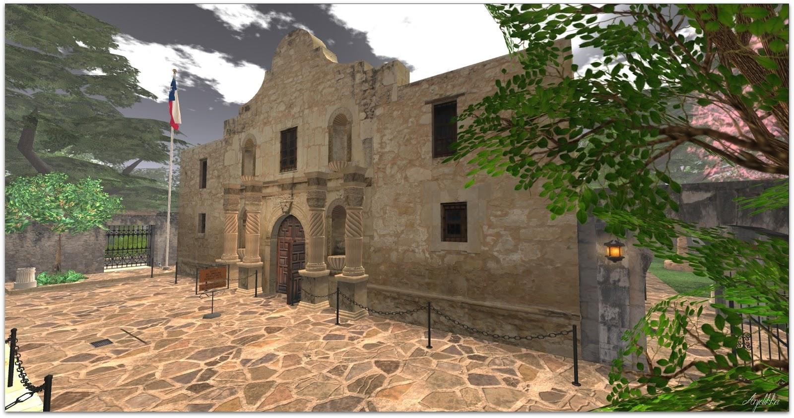 everybody dies and you can now go visit the alamo in second life