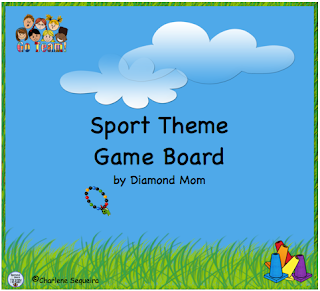https://www.teacherspayteachers.com/Product/Sports-Theme-Game-Board-585265