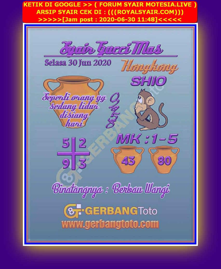 Kode syair Hongkong Selasa 30 Juni 2020 100