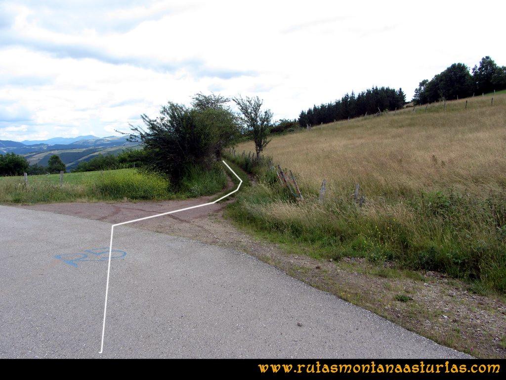 Ruta Cangas - Acebo: Camino a Villanueva de S. Cristobal