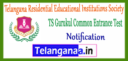 Telangana Gurukul CET 2018 Notification Application