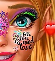 Pixie Flirty Makeup