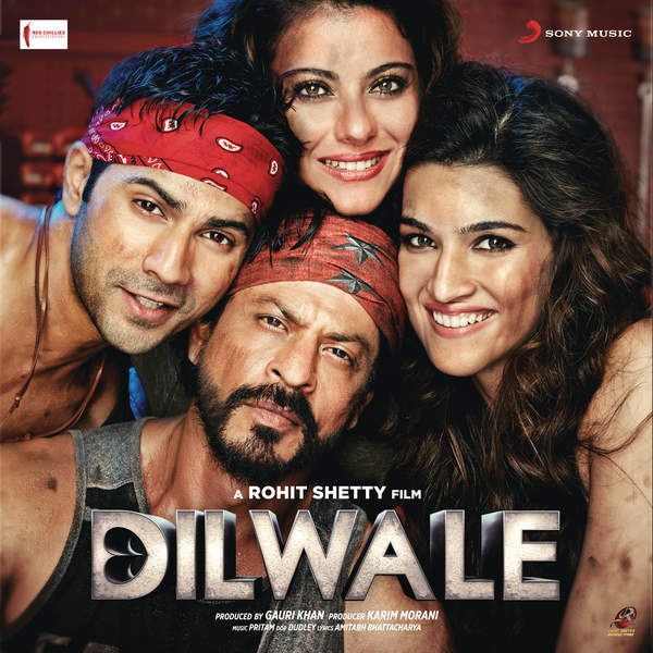 Pritam - Dilwale (Original Motion Picture Soundtrack) Cover