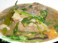 Ginisang Munggo with Oxtail