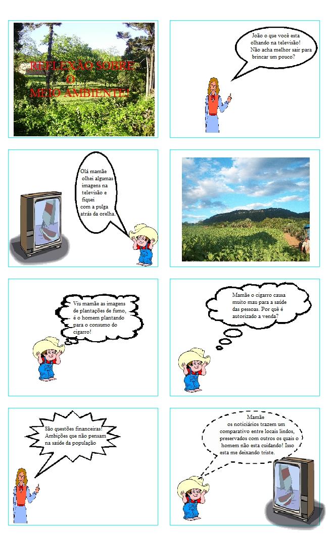 Preservação Do Património Natural: PRESERVAÇÃO DO MEIO AMBIENTE!: História Em Quadrinhos