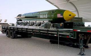 GBU-43/B USA Massive Ordnance Air Blast M.O.A.B.
