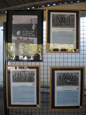 Panneaux du Mémorial du Musée