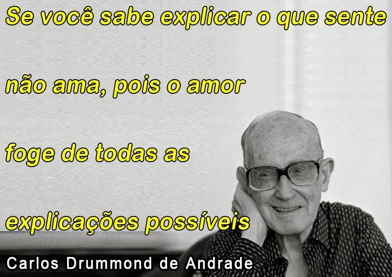 Frases De Carlos Drummond De Andrade Amor