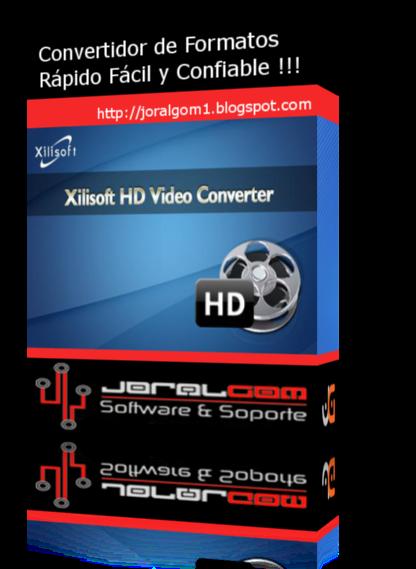 Xilisoft Video Converter Platinum v7.8.14 Convertidor de Formatos Rápido Fácil y Confiable !!!