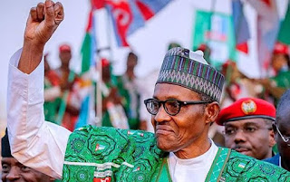 PMB Is In Lagos For Re-Election Campaign