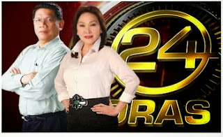 24 Oras, Pinoy,TV, Filipino