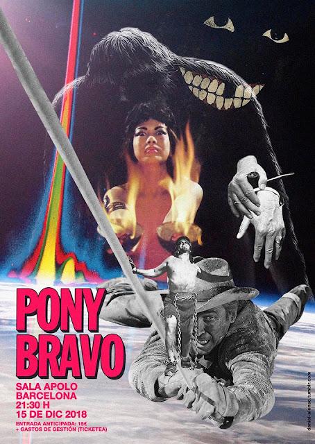 Pony Bravo, Barcelona