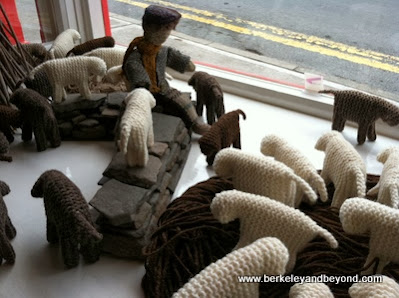 handmade sheep souvenirs at Commodum Art and Design in Dingle town, Ireland
