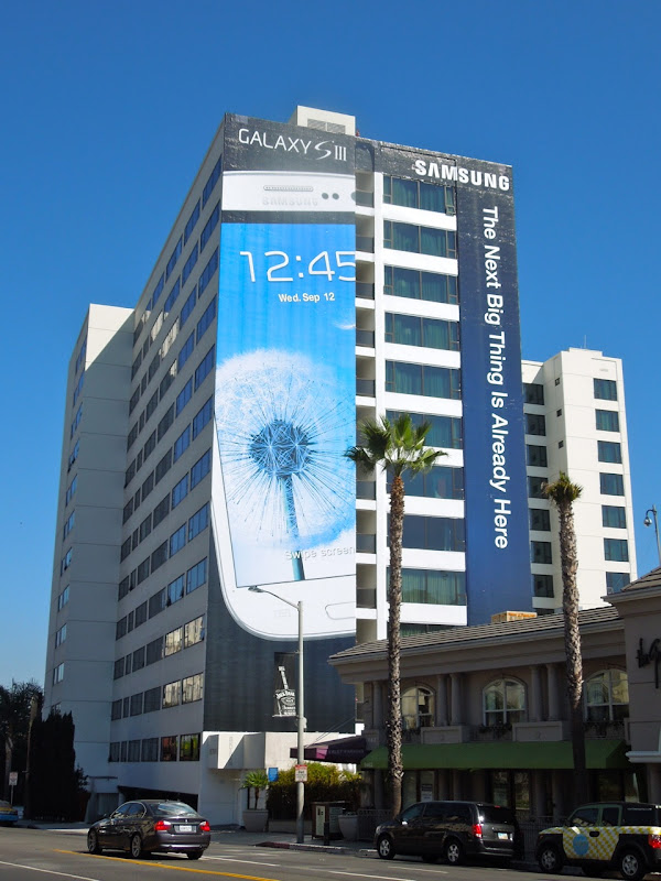 Samsung Galaxy S3 billboard