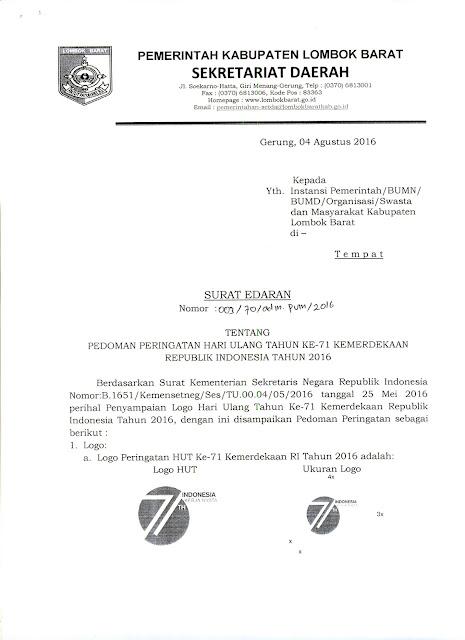 surat undangan setengah resmi Peringatan HUT Kemerdekaan Indonesia - www.simplenews.me