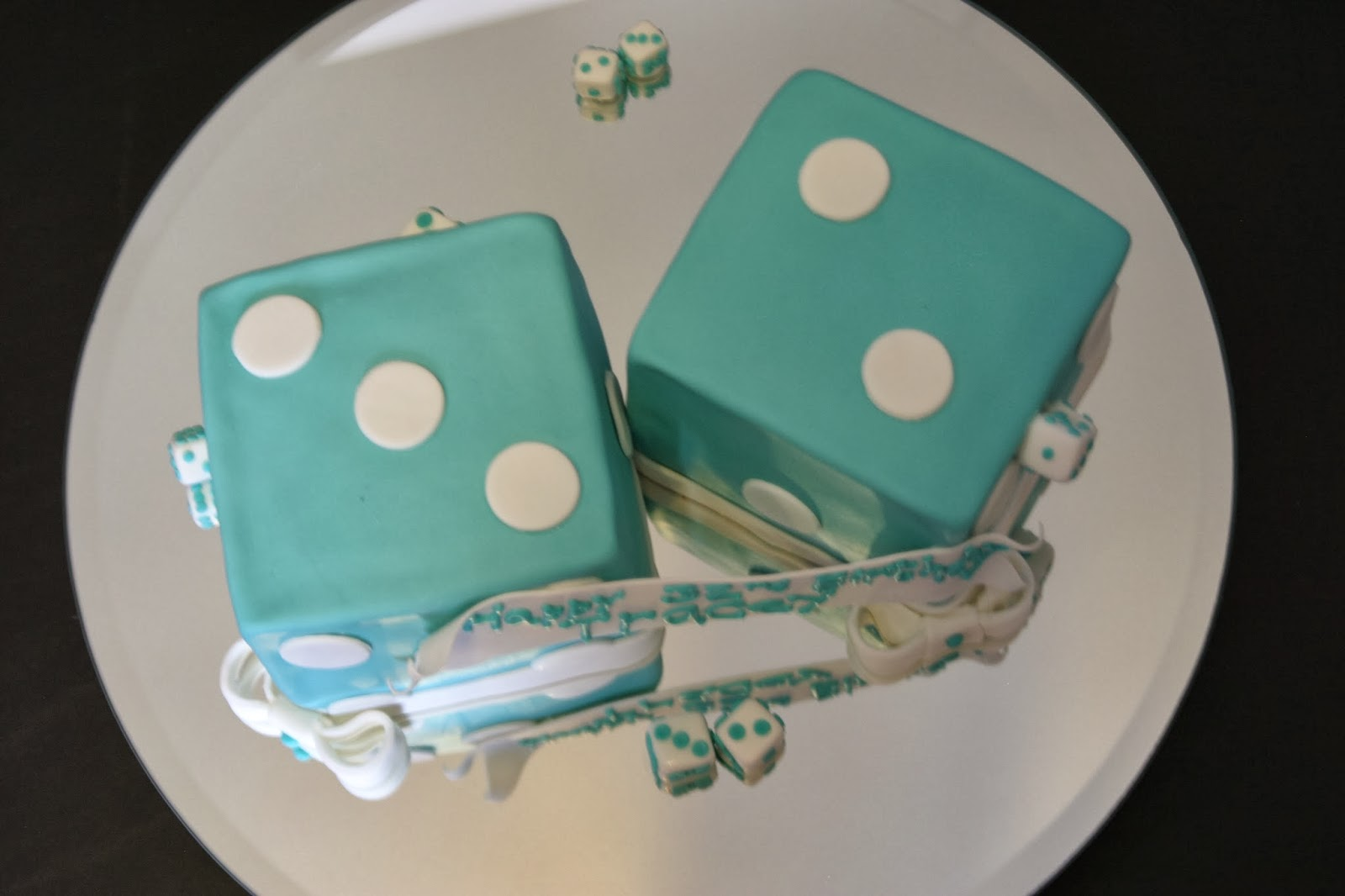 All Tiered Up Dice Birthday Cake