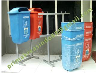 tempat sampah fiberglas
