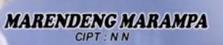 Lirik Lagu Toraja Marendeng Marampa'