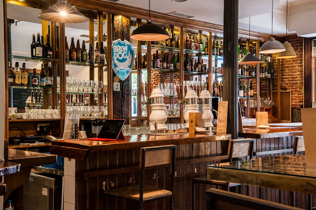Barra del Irreale cervezas, Madrid