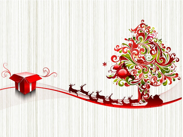 merry christmas 3d wallpaper download