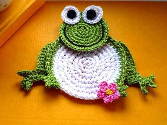 Tejidos Artesanales En Crochet Posavasos Tejidos En Crochet Varios