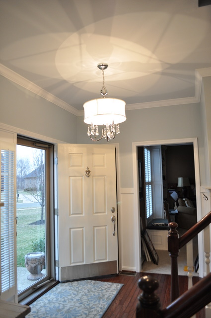 Remodelaholic Completely Updated Foyer Diy