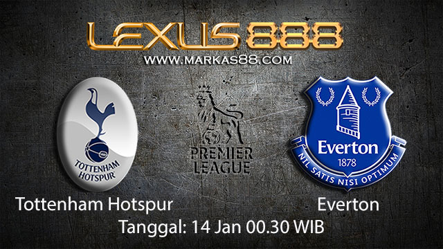 PREDIKSIBOLA - PREDIKSI TARUHAN BOLA TOTTENHAM HOTSPUR VS EVERTON 14 JANUARI 2018 ( ENGLISH PREMIER LEAGUE )