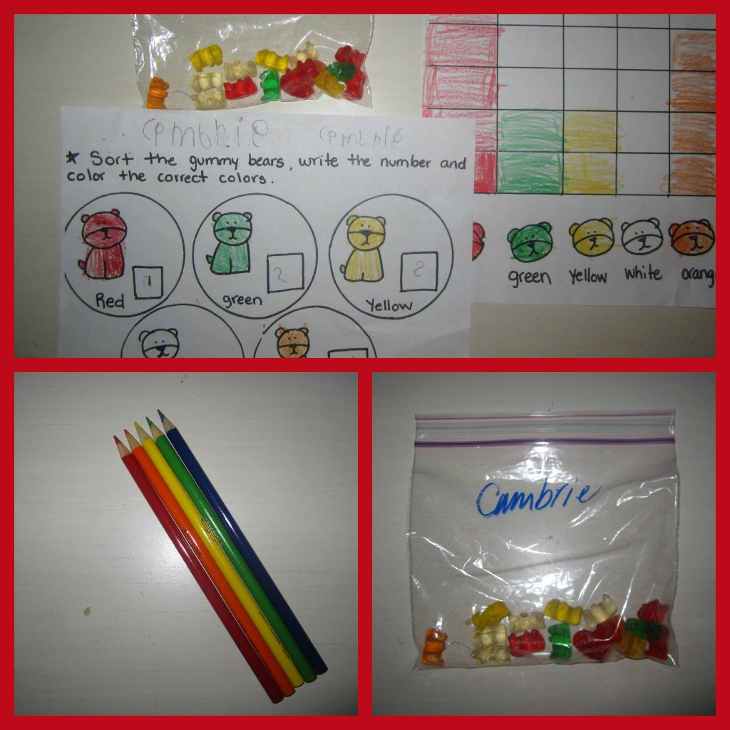 Gummy Bear Graphing Printables