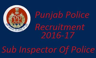 Jobs in Punjab Police, Police jobs