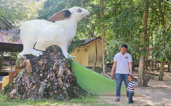 perosotan kelinci museum tanjung pandan belitung
