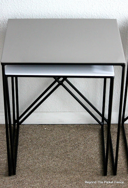 Upcycle Metal Nesting Tables
