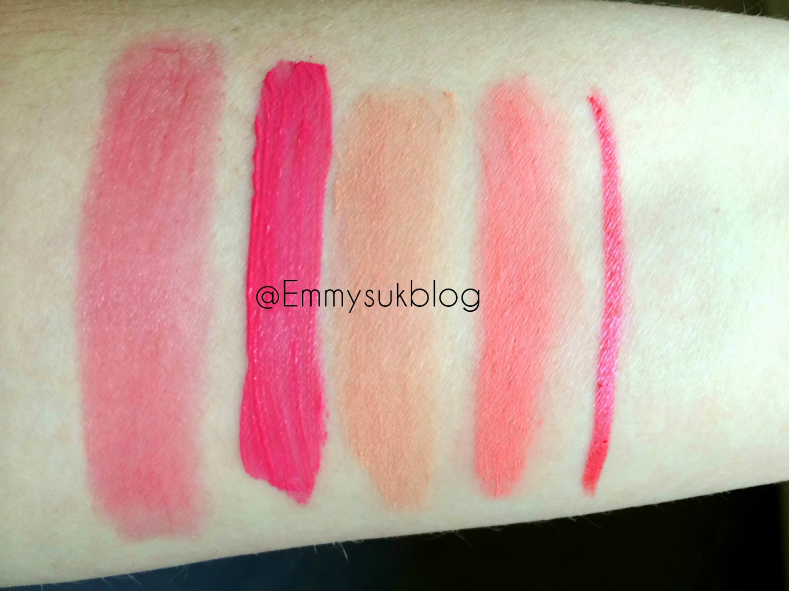 MUA Spring Collection 2015 Review and Swatches