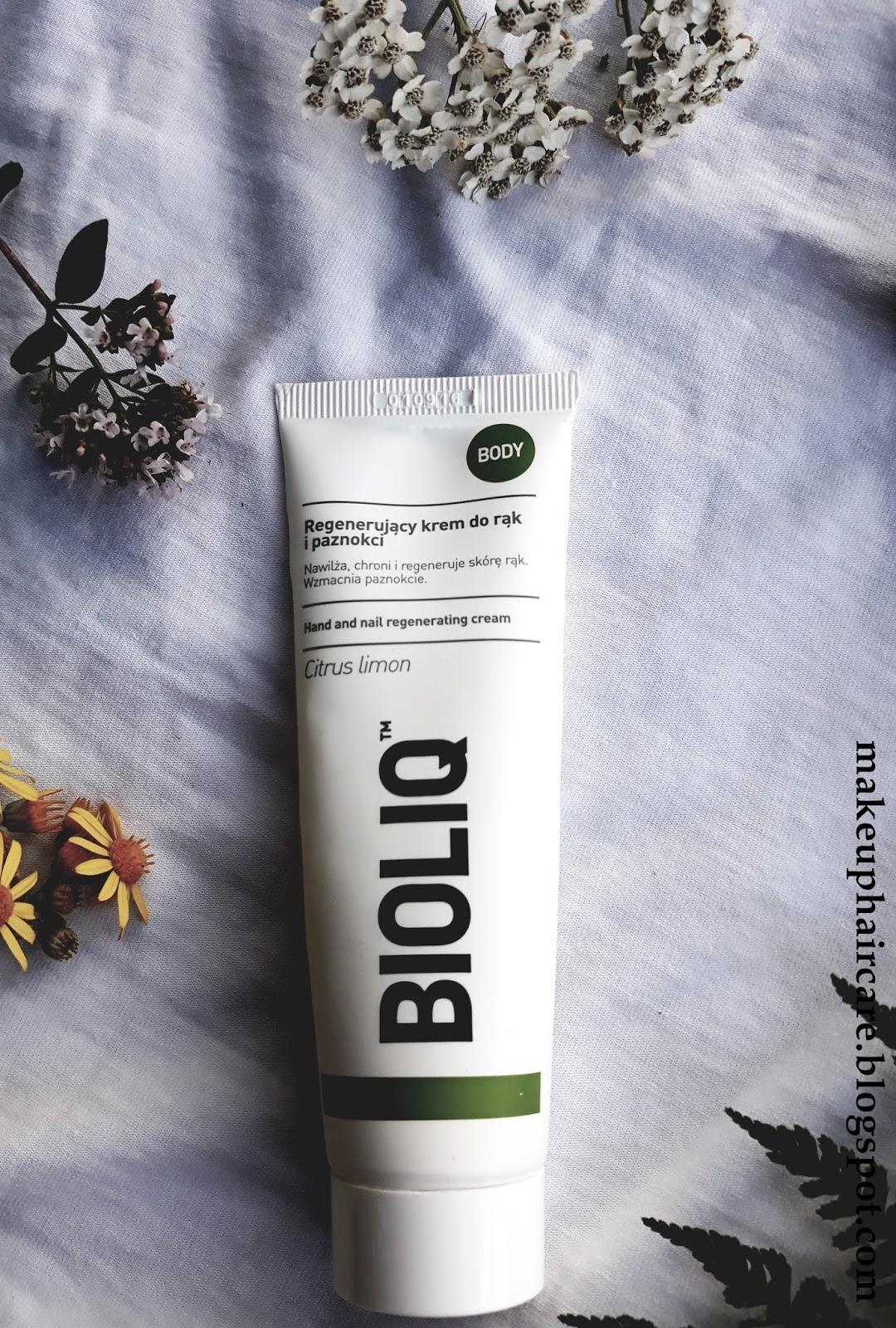 Bioliq Body, krem regenerujący do rąk i paznokci